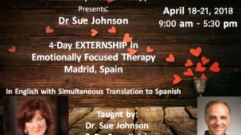 EXTRENSHIP in EFT by Sue Johnson, in Spain